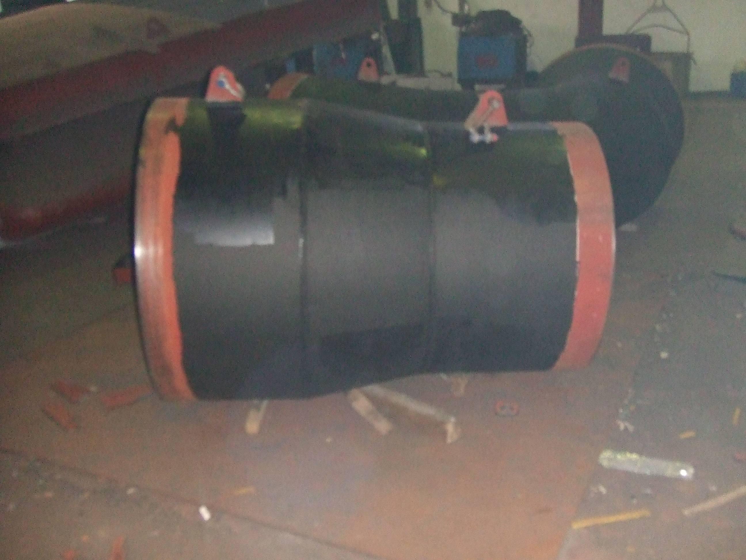 Fabricación y montaje de colector codo y transiciones